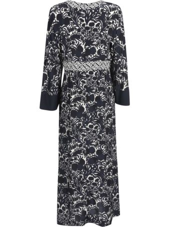 Max Mara The Cube Long Length Printed Dress