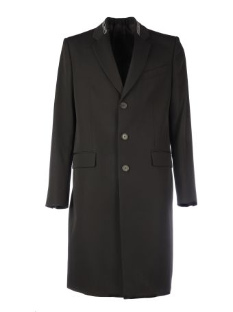 Givenchy Coat With Logo Details
