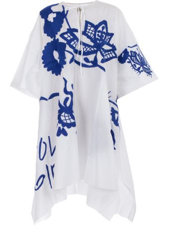 Marques'Almeida Kaftano W/embroidery