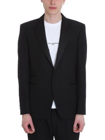 Stella McCartney Black Wool Single-breasted Jacket