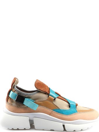 Chloé Buckled Strap Sneakers