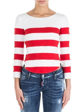 Moschino  T-shirt Long Sleeve Crew Neck Round