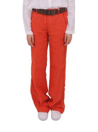 Massimo Alba Red Lamna Trousers