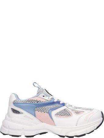 Axel Arigato Marathon  Sneakers In White Tech/synthetic
