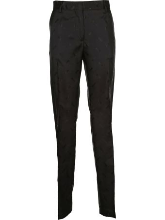 MSGM All Over Logo Trousers