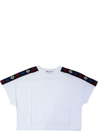 Marcelo Burlon White Cropped T-shirt