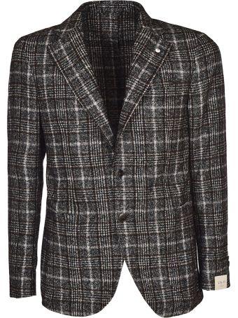 Luigi Bianchi Mantova Check Single Breasted Blazer