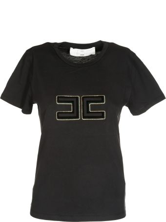 Elisabetta Franchi Celyn B. Elisabetta Franchi For Celyn B. Embroidered Logo T-shirt