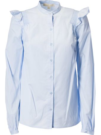 Michael Kors Ruffle Detail Shirt