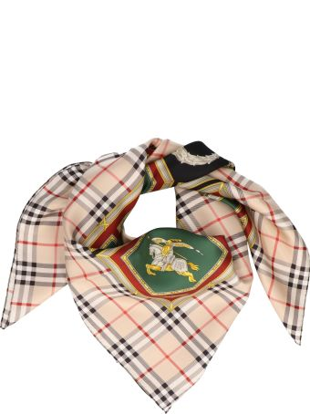 Burberry 'ornamental Bord' Foulard