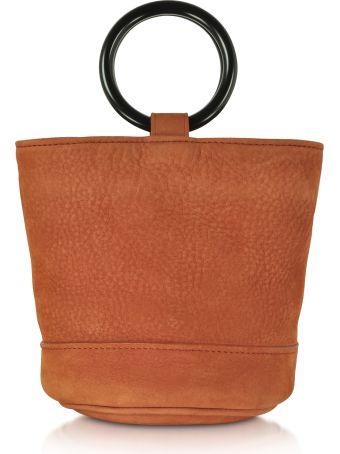 Simon Miller S801 Rust Nubuck 15 Cm Bonsai Bag