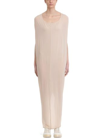 Rick Owens Lilies Gown Nude Jersey Dress