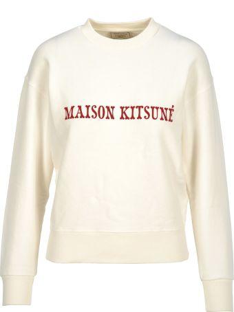Maison Kitsuné Maison Kitsune Felpa Logo