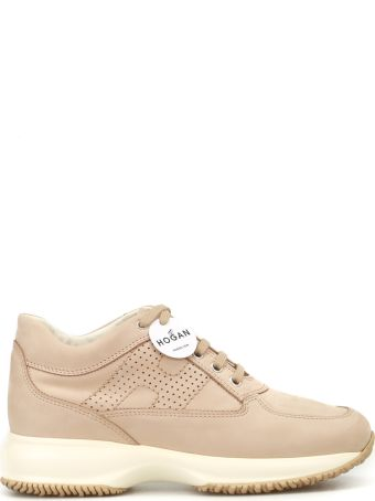 Hogan Perforated H Interactive Nude Shoes Hxw00n00e30a8hc600