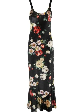ATTICO Floral Long Dress