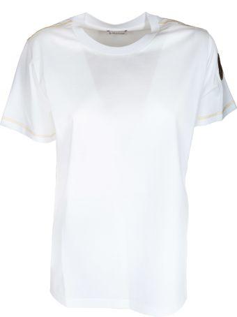 Moncler Logo Sleeve Patch T-shirt