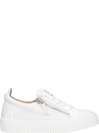 Giuseppe Zanotti Gail  Sneakers In White Leather