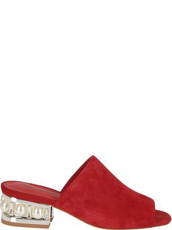 Jeffrey Campbell Pearl Embellished Sandals