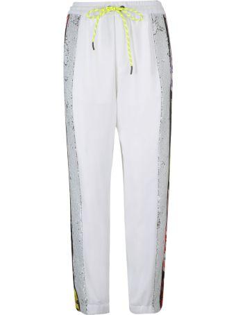 Iceberg Logo Stripe Trousers