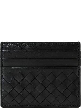 Bottega Veneta Weaved Effect Card Case