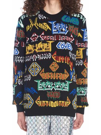 Gucci 'gucci Metal' Sweater