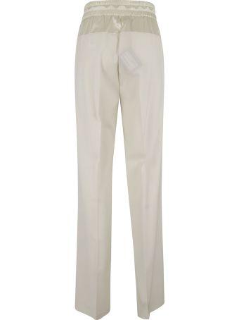 Fabiana Filippi Drawstring Waist Long Trousers