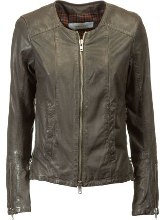 Bully Zipped Up Biker Jacket
