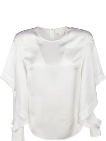 Genny Ruffled Side Detail Top