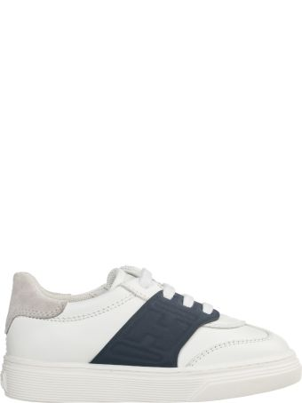 Hogan Boys Shoes Baby Child Sneakers Pelle