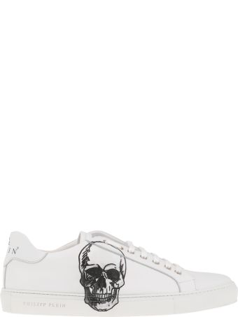 Philipp Plein Smooth Leather Sneakers