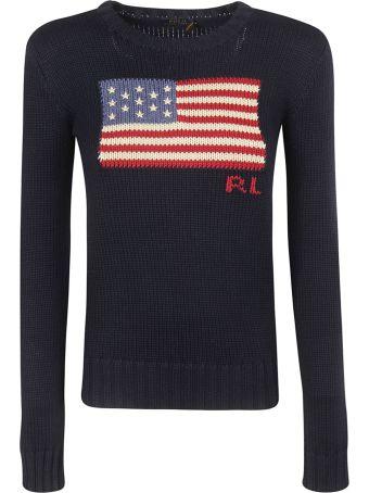 Ralph Lauren American Flag Sweater
