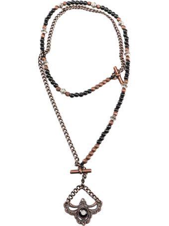 Tagliatore Tagliatore Chain Pendant Necklace