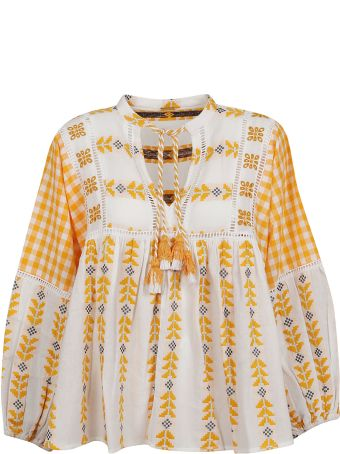 Dodo Bar Or Embroidered Detail Blouse