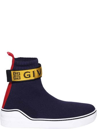 Givenchy Knitted 4g Web Sneakers