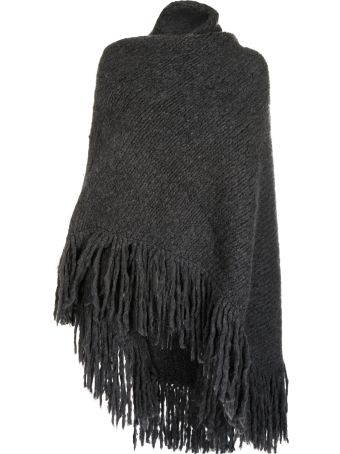 Gabriela Hearst Fringed Cape