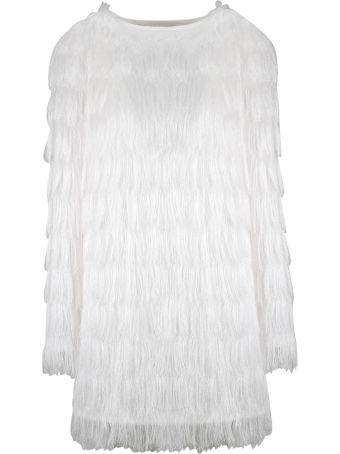 Balmain Sparkle Fringe Mini Dress
