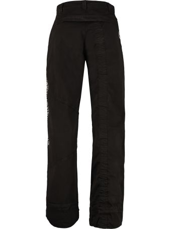Off-White Cotton Cargo-trousers
