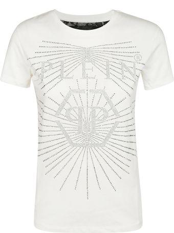 Philipp Plein Logo Applique T-shirt