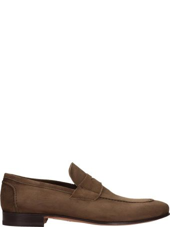 J. Wilton Browne Suede Loafers