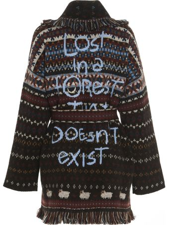 Alanui 'lost In Forest' Cardigan