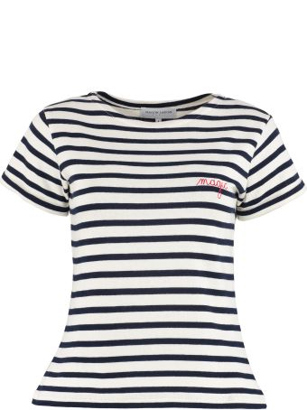 Maison Labiche Striped Knit T-shirt