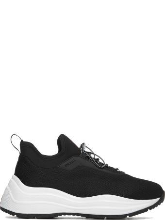Prada Linea Rossa Lace-up Sneakers