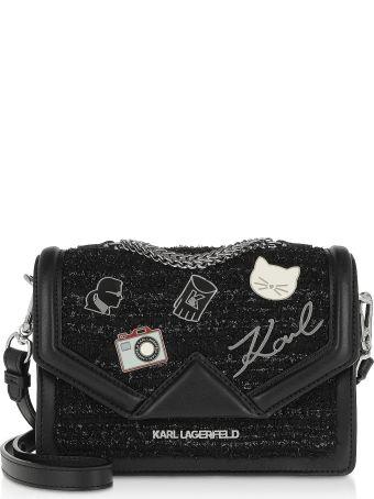 Karl Lagerfeld K/klassik Pins Small Shoulder Bag