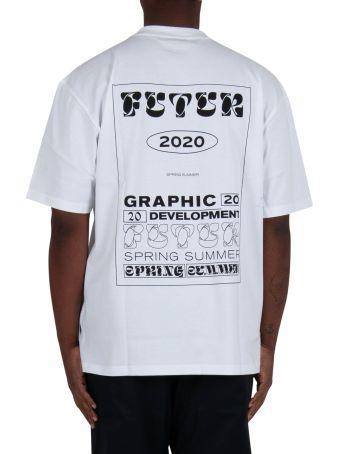 Futur Fit Dr Typo Tee - White