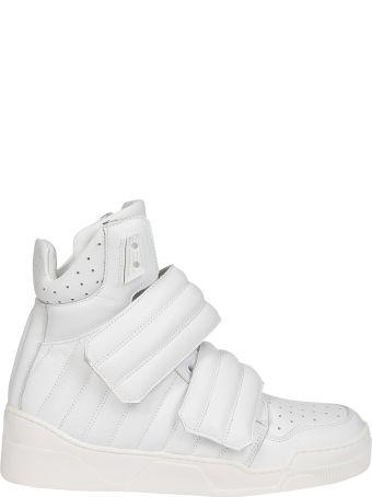 Les Hommes Padded Hi-top Sneakers