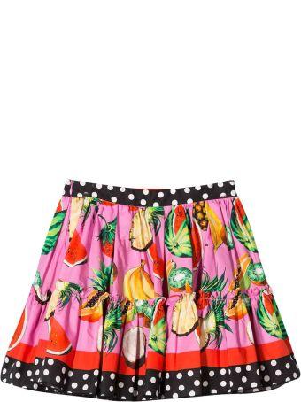Dolce & Gabbana Fuchsia Skirt