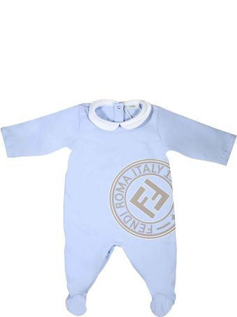 Fendi Blue Newborn Suit