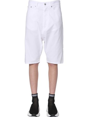 MM6 Maison Margiela Cropped Shorts