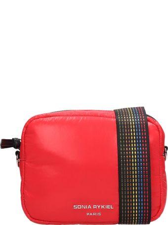 Sonia Rykiel Red Nylon Camera Bag