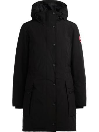 Canada Goose Kinley Black Parka With Hood